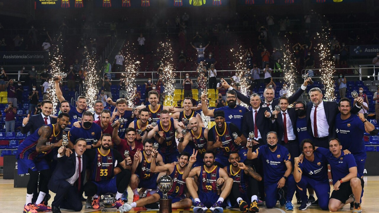 Leandro Bolmaro is champion in basketball in Spain: Barcelona was crowned in the ACB League after seven seasons
