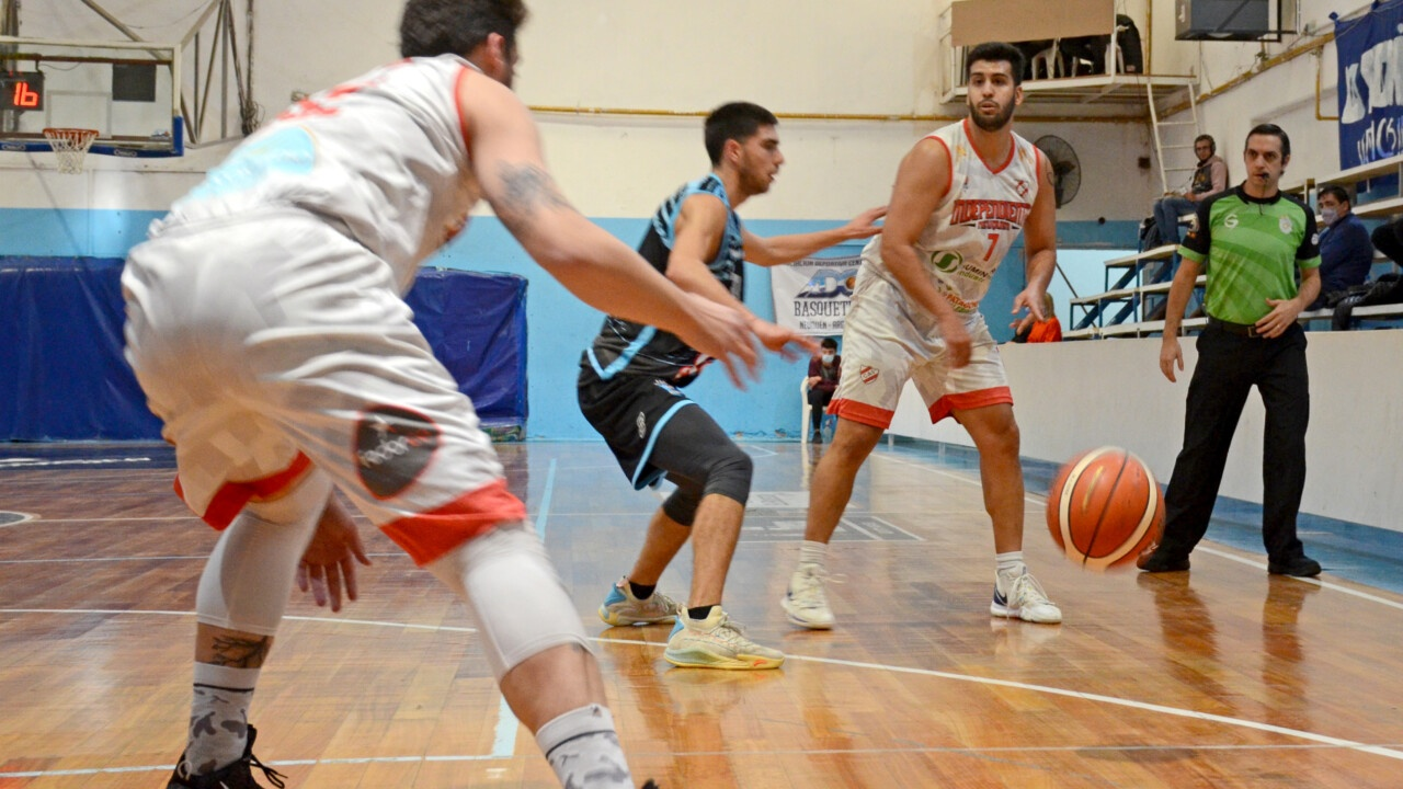Federal basketball: Independiente prevailed with authority in Centenario