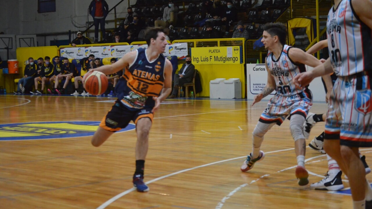 Argentine basketball league: Atenas, owner of the classic against Viedma
