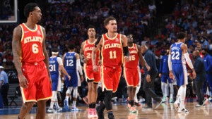 The location of the Atlanta Hawks vs. Philadelphia 76ers Among the Greatest Comebacks in NBA Playoffs History | NBA.com Argentina | The Official Site of the NBA
