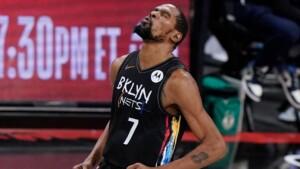 Historic KD triple-double seals Nets win at J5