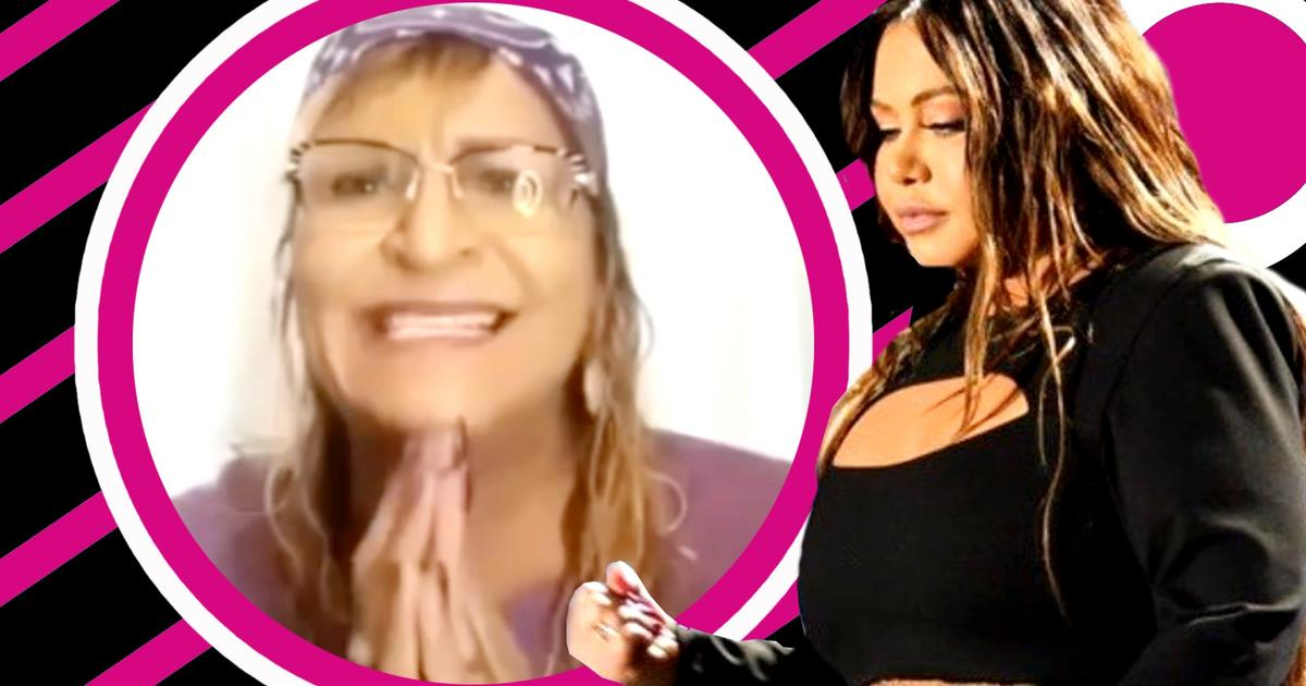 """Chiquis's aunt after being accused of raping her: """"I implore you to come out and defend me"""""""