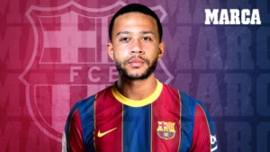 Official: Memphis Depay signs for Barcelona