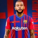 Official: Depay, new Barcelona player until June 2023