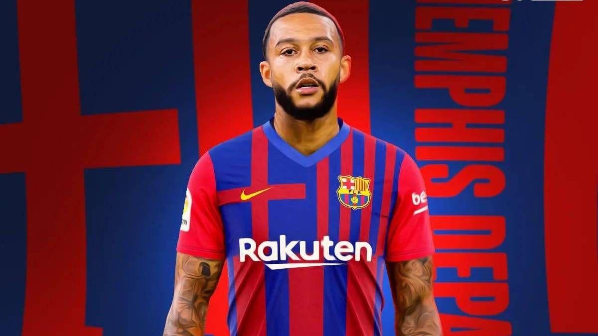 1624146767 Official Depay new Barcelona player until June 2023