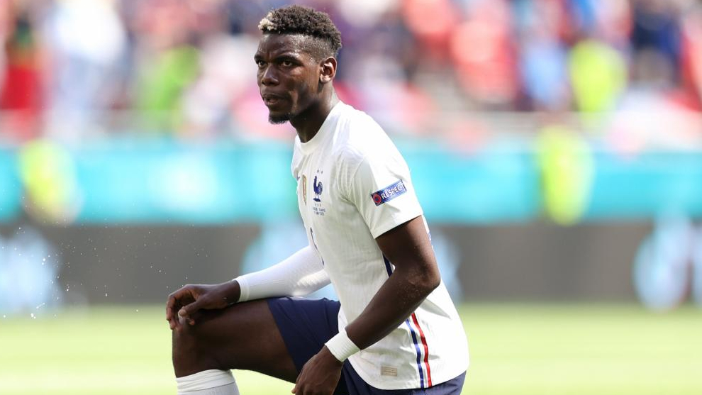 Pogba, in France's last game against Hungary