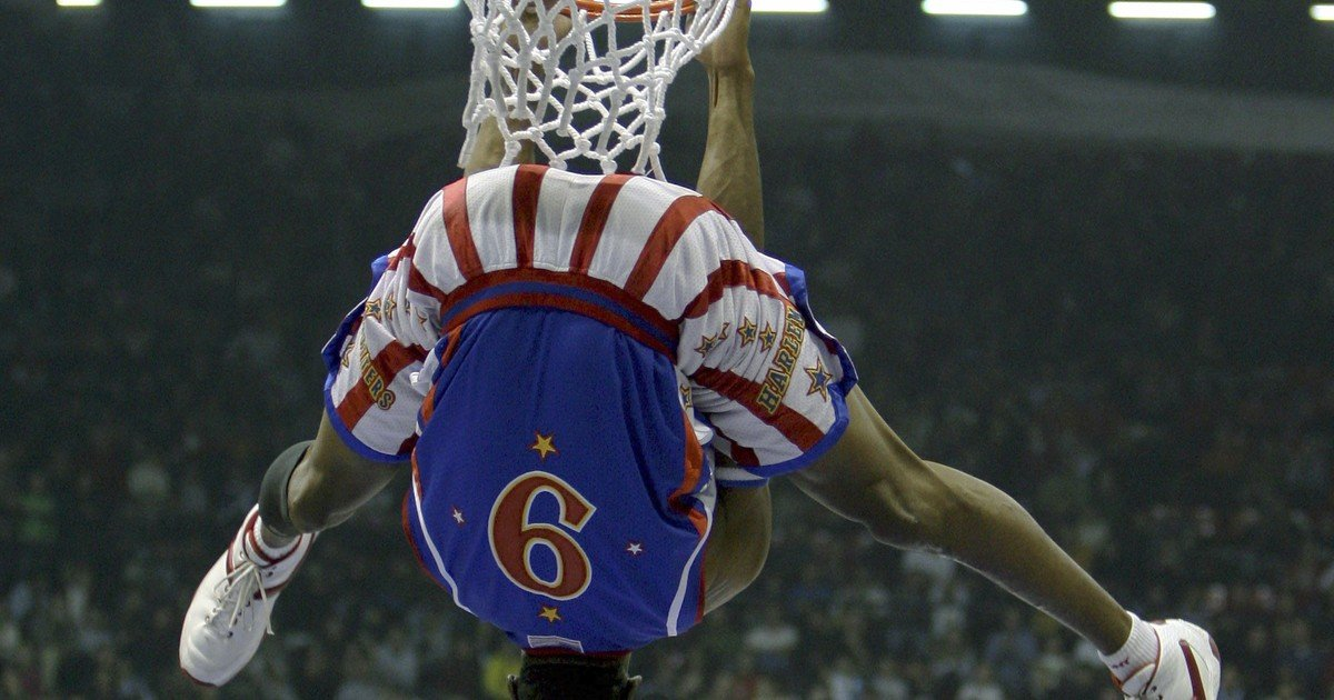 The Harlem Globetrotters asked to join the NBA 'right now'