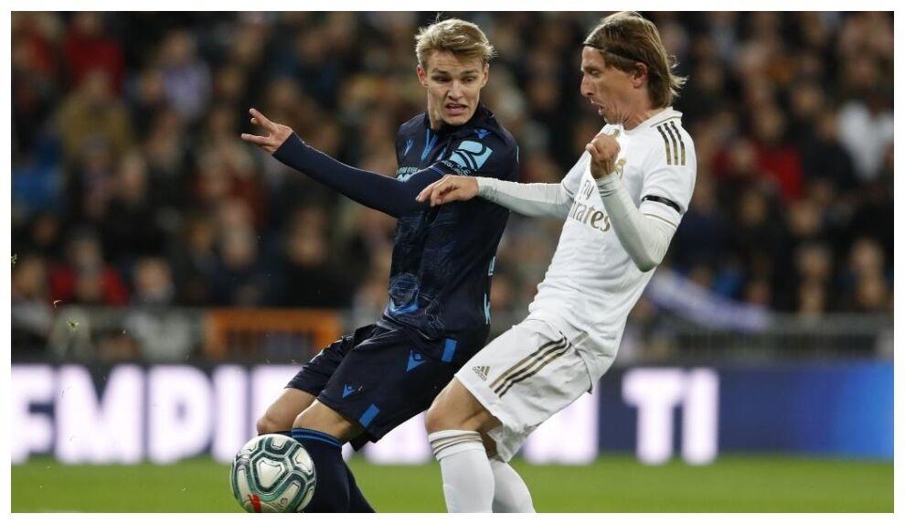 Modric, bad news for Odegaard