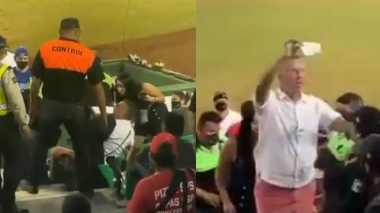 US man is kicked out of ballpark in Yucatan for refusing to wear face masks