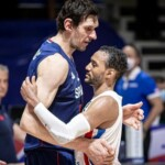 Dominican tried for three quarters but succumbed to the Serbs