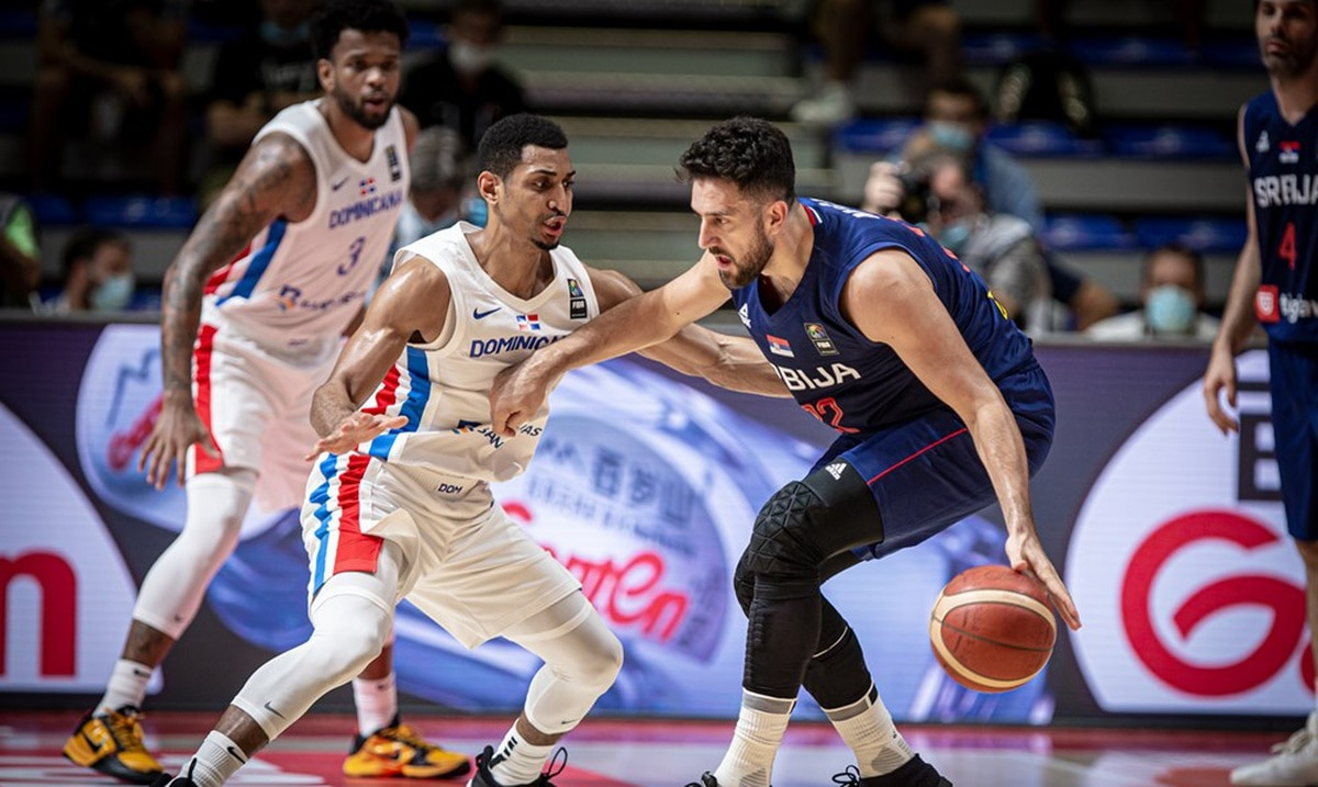 Overwhelming Serbia in the final period against the Dominican Republic