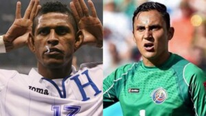 The rivalry between Carlo Costly and Keylor Navas in the Honduras vs Costa Rica