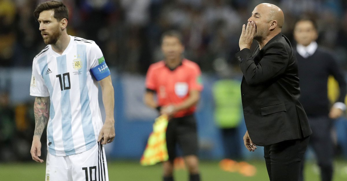 A former player of the Argentine National Team revealed unpublished details of the meetings with Sampaoli in the 2018 World Cup