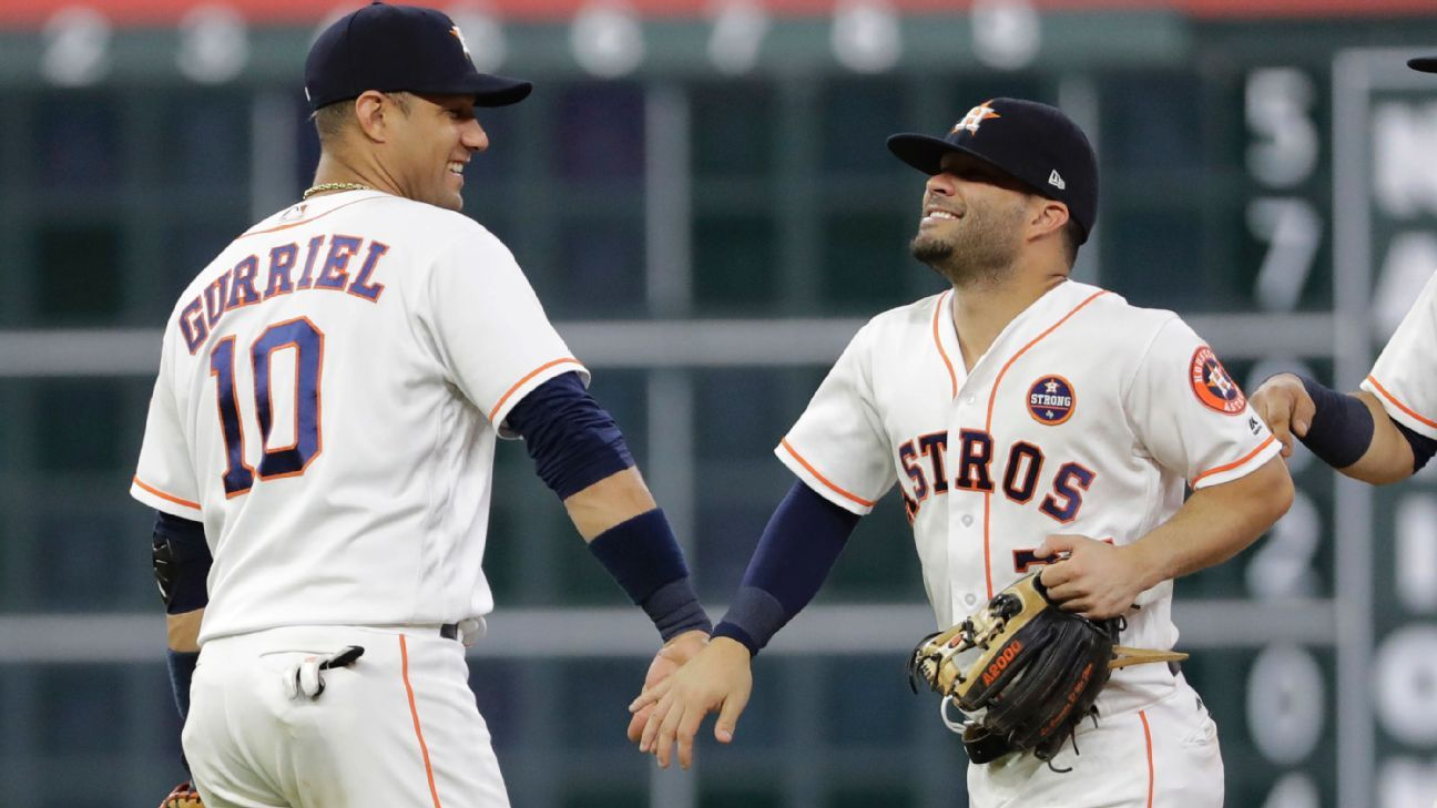 Astros leads MLB with 7 finalists to the All Star Game