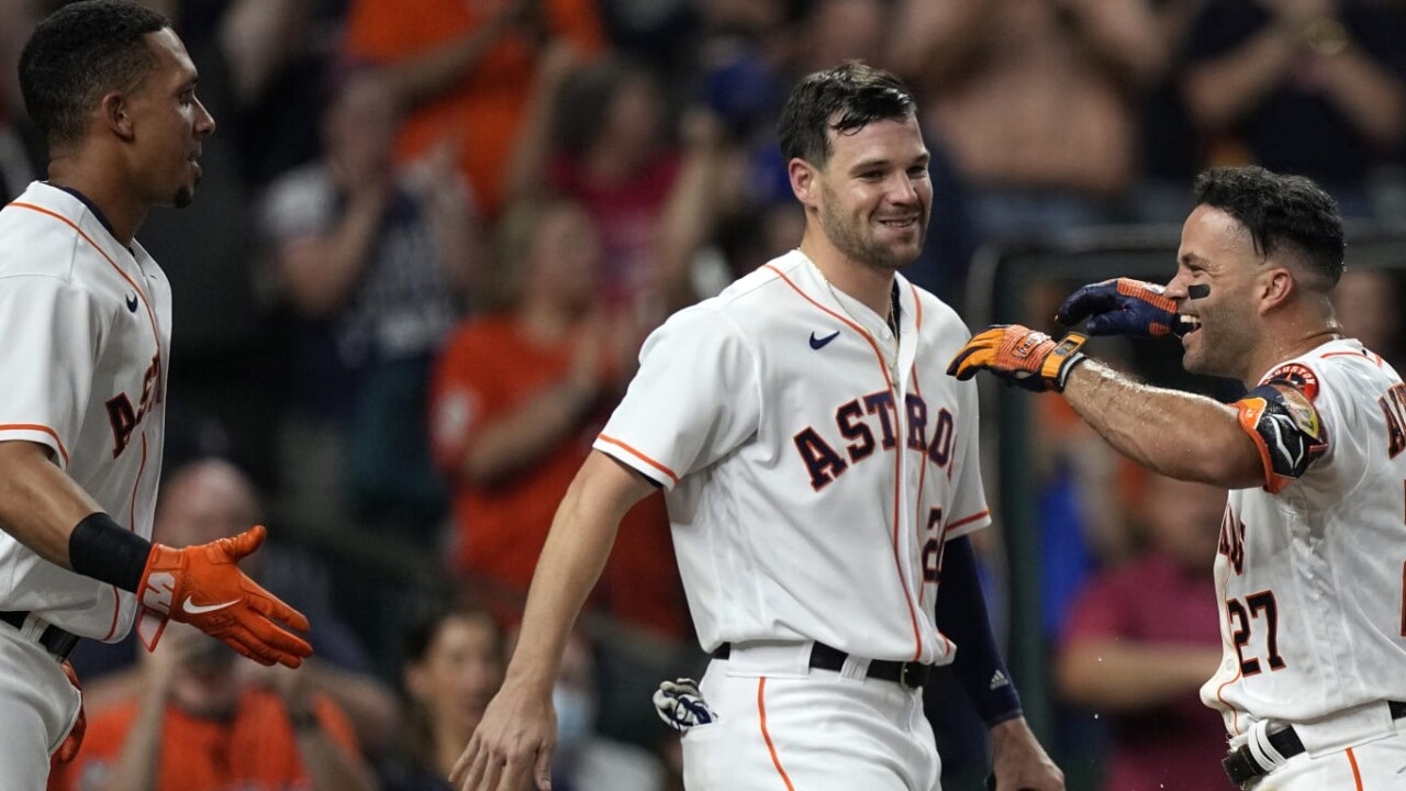 Astros, unstoppable during their great streak