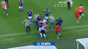 Attention: the referee's report after the fight in Millonarios vs. Junior