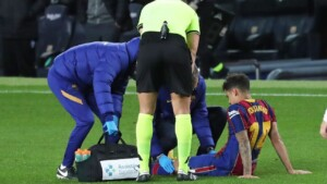 Barcelona loses patience with Coutinho, who is still injured
