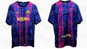 Barcelona will wear a 'special' shirt to play the Champions League