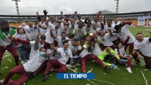 Blue tragedy: Tolima won and is the new champion of the League
