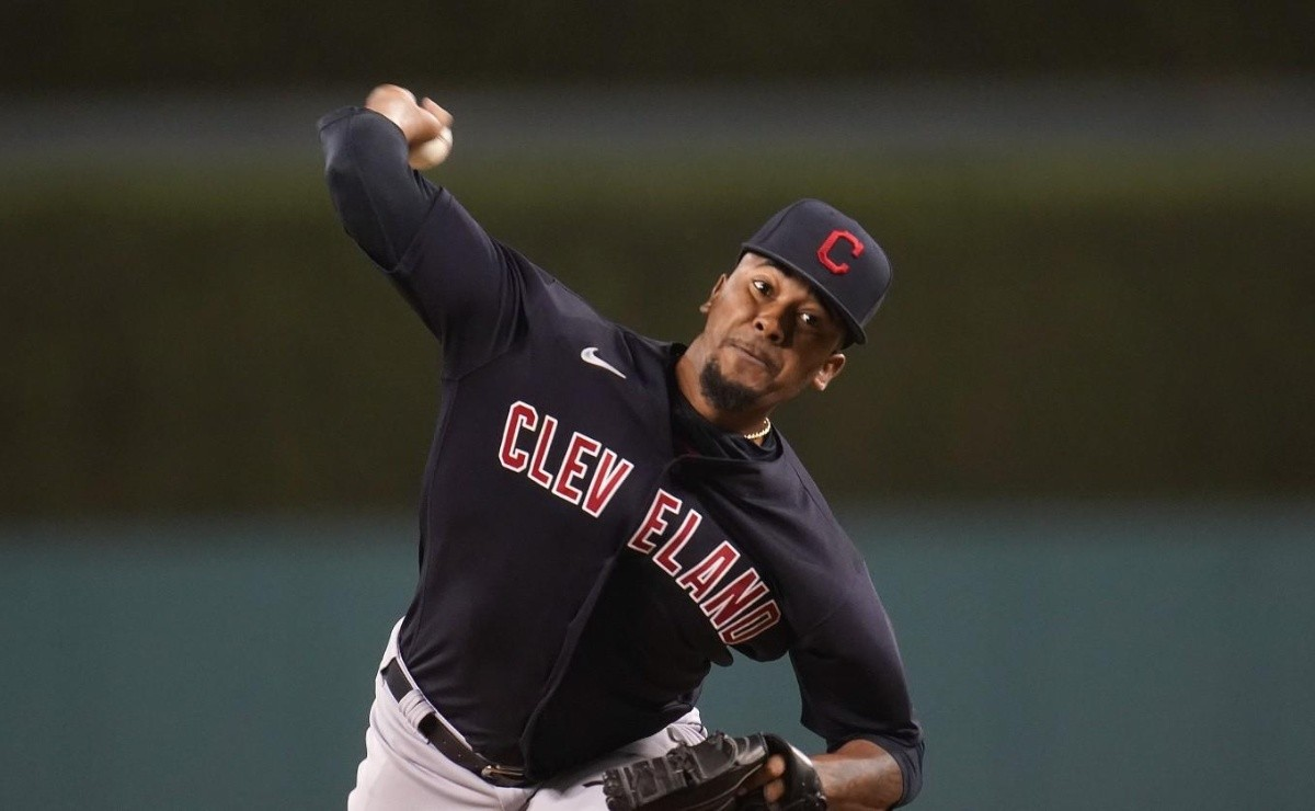 Cleveland's Dominican reliever throws toughest cutter of all time