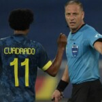 """Colombia asked Conmebol for the """"immediate suspension"""" of Nestor Pitana after the controversy in the match against Brazil"""