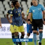 Colombia requests suspension of referees who called match against Brazil