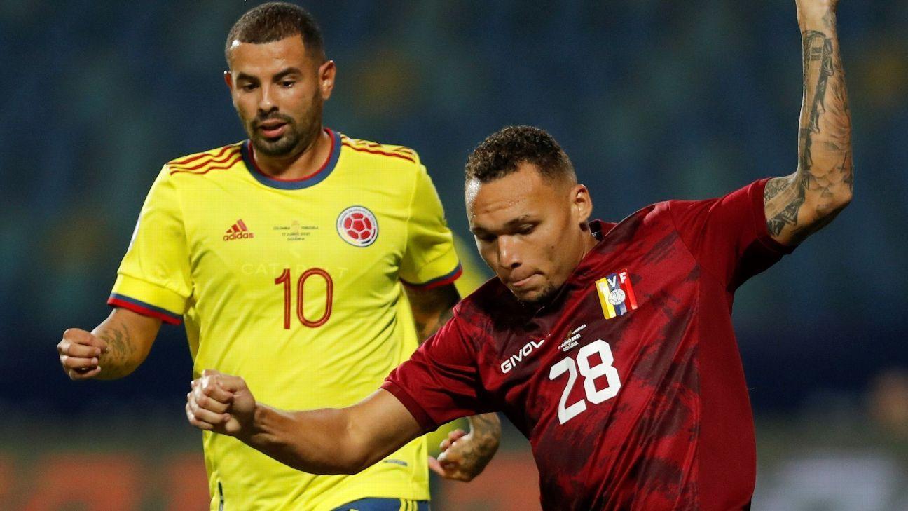 Colombia vs. Venezuela – Party Report – June 17, 2021 – ESPN