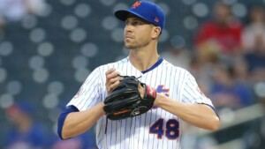 DeGrom won't miss any outings for the Mets