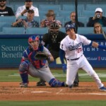 Dodgers infielder hits first MLB hit five years after debut