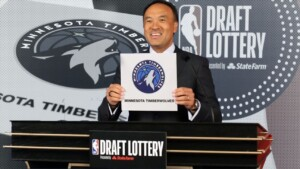 Draft lottery result does not favor KAT and Edwards' Timberwolves