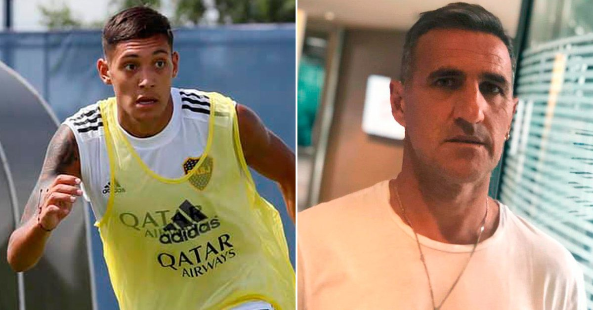 """Explosive phrases by Nahuel Molina's father against Boca: he tried to """"arrogant"""" Cascini and pointed to Riquelme's """"rottweilers"""""""