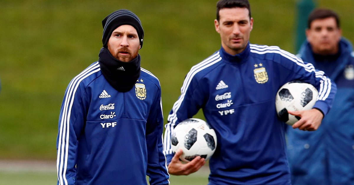 Finally, Messi will start against Paraguay: the details of the talk with Scaloni that put him in doubt throughout the day