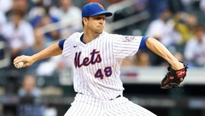 Following Jacob deGrom's 2021 season with the New York Mets