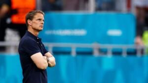 Frank De Boer leaves the Netherlands national team