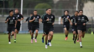 Funes Mori had a late presentation with his new teammates from El Tri by PCR test