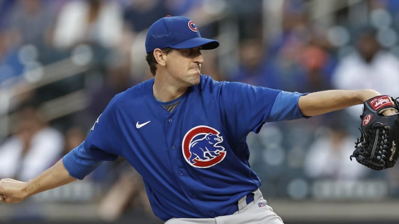 Hendricks, Cubs avoid sweep in NY