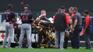 Indians: Naylor Fractures Ankle, Needs Surgery
