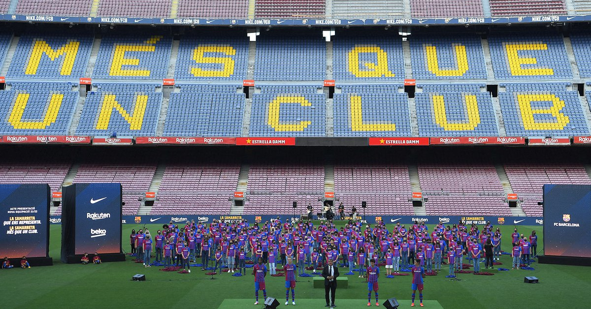 Inspired by its shield: Barcelona presented a new and exotic shirt that breaks with the traditional mold