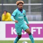 Konrad de la Fuente will leave Barcelona to sign with Marseille