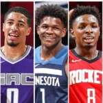 LaMelo and Edwards lead the All-Rookie First Team