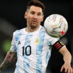 Lionel Messi has the record of presences and is the historical scorer of the Argentine National Team