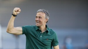"""Luis Enrique: """"Of course I would have preferred to continue playing at La Cartuja"""""""