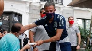 Luis Enrique reconsiders with Llorente