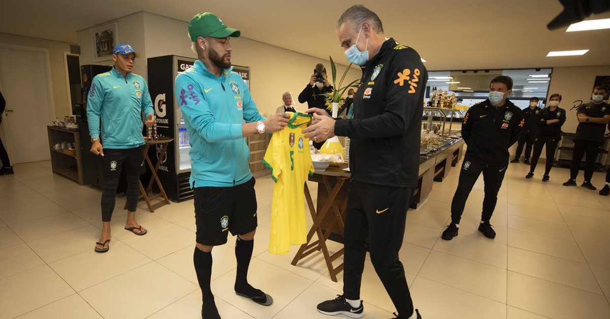 Neymar's gesture with the Brazilian squad that moved Tite