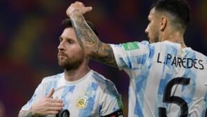 Paredes' brave confession about Messi