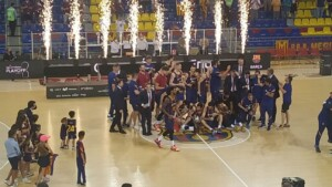 Pau Gasol is crowned in the ACB League against Madrid