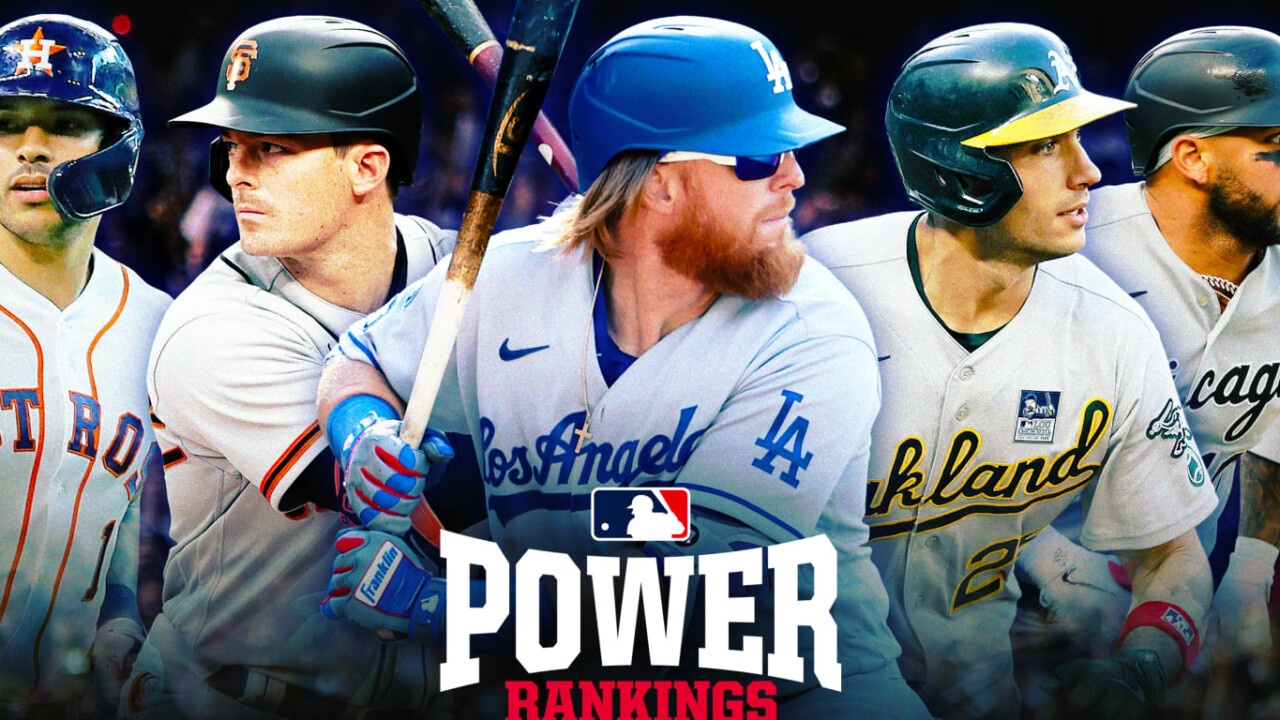 Power Rankings: Change in first place