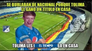 Rain of memes against Millionaires after losing the League with Tolima