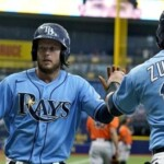 Rays outfielder makes worst joke of his life on former rival teammate and the benches are almost emptied