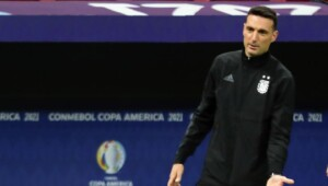 Scaloni: 'There is only one who has guaranteed ownership'